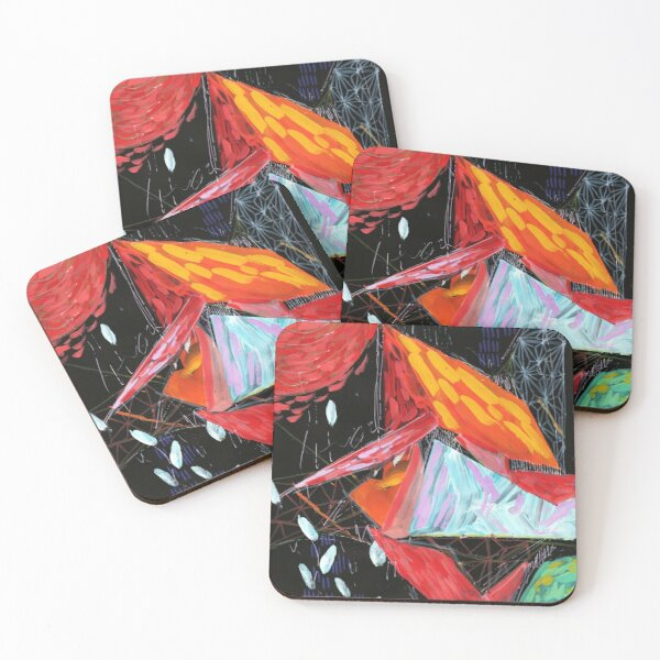 Triangles Two Coasters (Set of 4)
