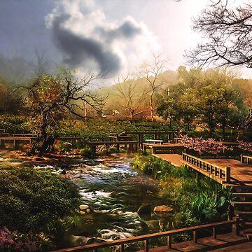 Japanese Oil Art by jwalk