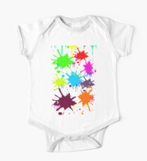 BIG BLOBS OF PAINT SPLATTER IN 8 COLORS FOR THE PAINTER OR ARTIST IN YOUR LIFE #ARTISTRY One Piece - Short Sleeve