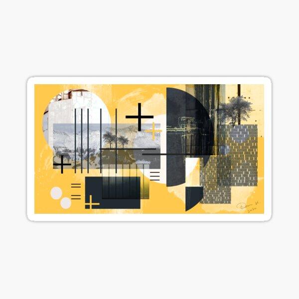 Digital Arch Collage 1 Sticker