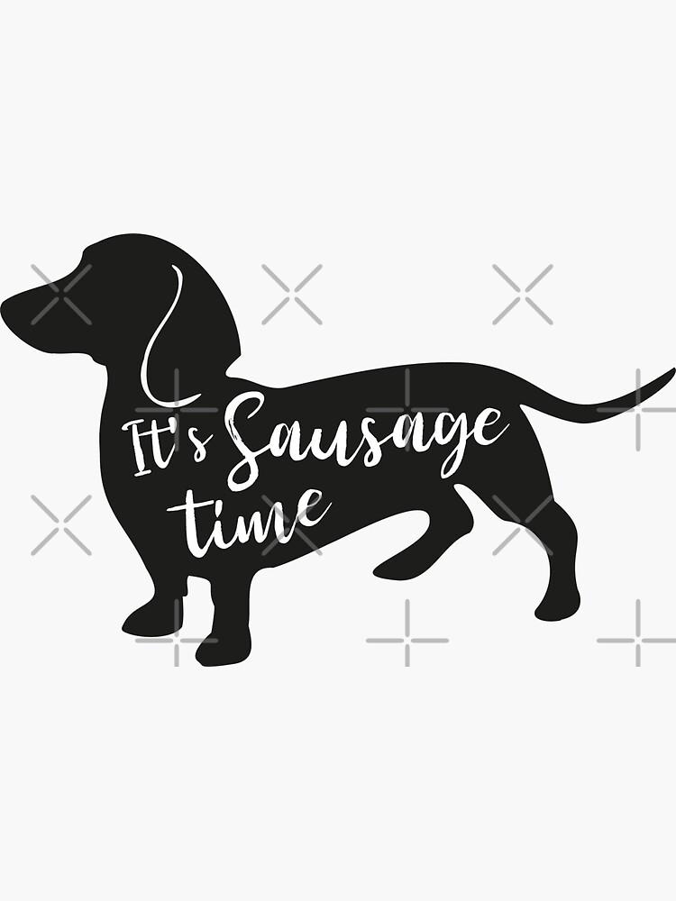 Dachshund – It's sausage time – by Bonnie Portraits by BonniePortraits