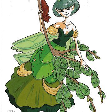 Leaf Fairy Princess by leannemarie