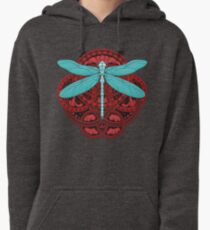 Dragonfly Fire Pullover Hoodie