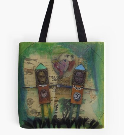Love me do - Throw Pillow Tote Bag