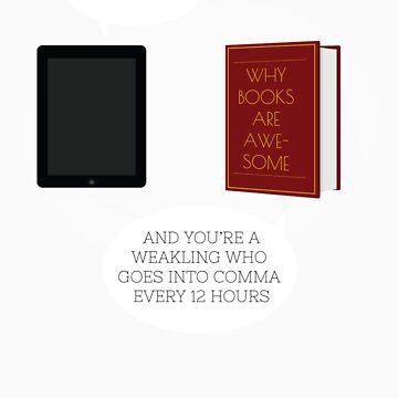 Book-tablet debate by afifsohaili