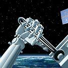 Space station maintenance by Paul Fleet