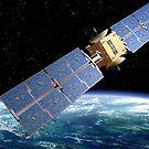 Communication Satellite by Paul Fleet