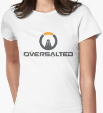 Oversalted Women's Fitted T-Shirt