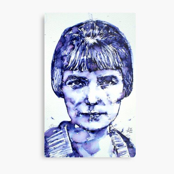 KATHERINE MANSFIELD portrait Metal Print