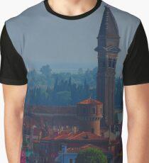 Island off Venice Graphic T-Shirt