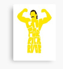 gay for rick rude Canvas Print