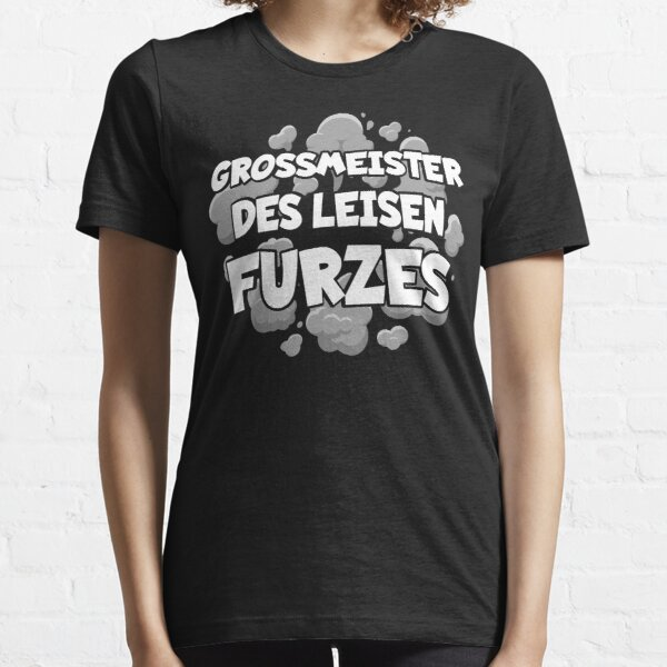Großmeister des leisen Furzes Essential T-Shirt