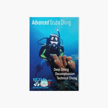 Advanced Diving (Specialist) Art Board Print
