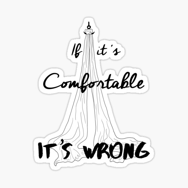 It's Wrong - Silks Sticker