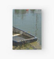 Sunken boat Hardcover Journal