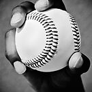 baseball in hand by blacqbook