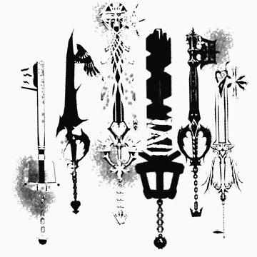 KeyKnives white version by RaesaK