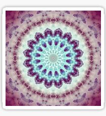 Mandala of Peace - Abstract Fractal Artwork Sticker