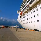 Docking in Cozumel - Grandeur of the Seas by ctheworld