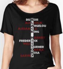 BLACK HISTORY  Women's Relaxed Fit T-Shirt