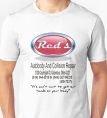 Red's Autobody and Collision Repair logo shirt Unisex T-Shirt
