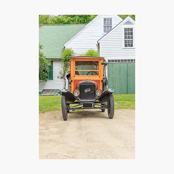 Model T Ford Photographic Print