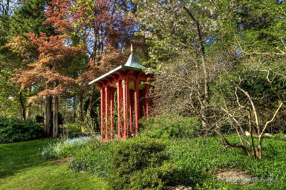 Long Hill Garden by Monica M. Scanlan