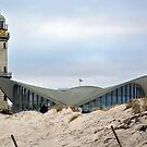 Lighthouse in the dunes by Arie Koene