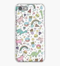Dinosaurs and Unicorns iPhone Case/Skin