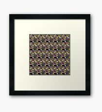 Retro 50s abstract Framed Print