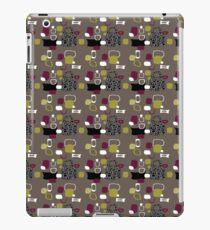 Retro 50s abstract iPad Case/Skin