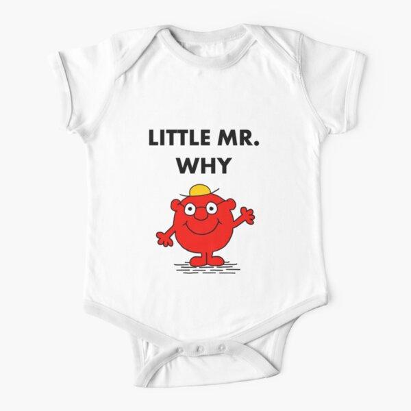 Herr Warum? Baby Body Kurzarm