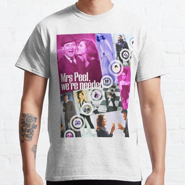 JOHN STEED and EMMA PEEL Spy-fi 1967 POP ART Classic T-Shirt