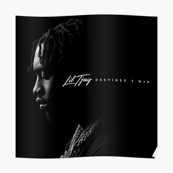Lil Tjay Canvas Poster Custom Music Poster Rapper Print Lil Tjay Canvas Rolls Wall Hanging Lyrics Poster Home Decor Unframed Canvas
