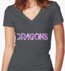 (Imagine) Dragons Women's Fitted V-Neck T-Shirt