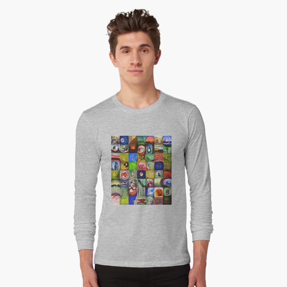 BlackHalt`s Instagram Photos #DeepDreamed Long Sleeve T-Shirt