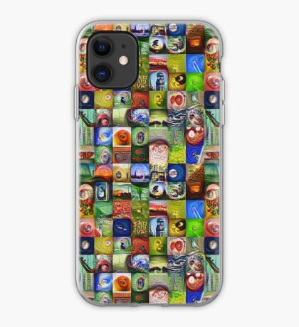 BlackHalt`s Instagram Photos #DeepDreamed iPhone Case