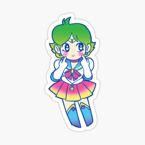 Cute Space Soldier Sticker