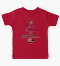 Keep Calm and SQUIRREL Kids Clothes