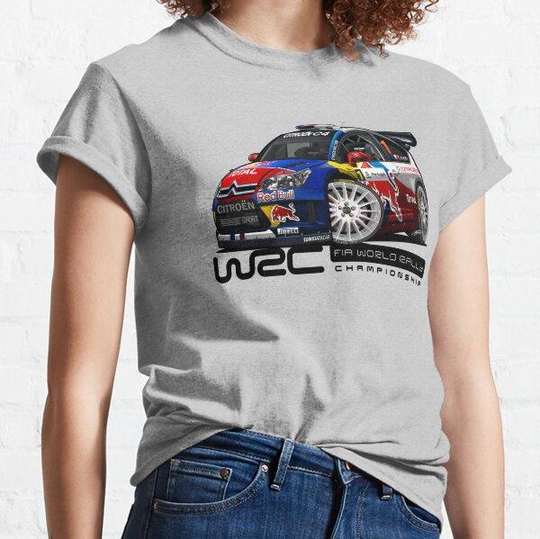 Sebastien Loeb drift C4 t shirt Rally Touring WRC Record Boy racer Mens Top
