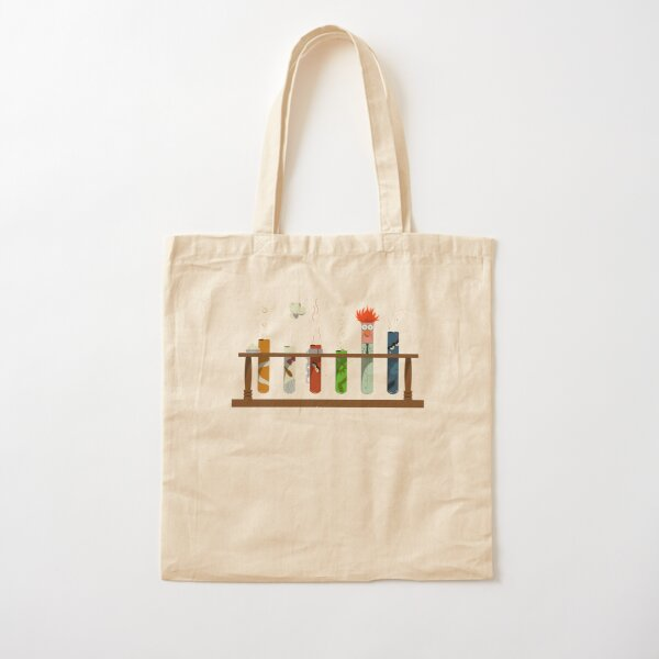 Muppet Science - Chemistry  Cotton Tote Bag