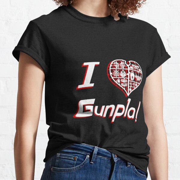 I Heart Gunpla! Classic T-Shirt