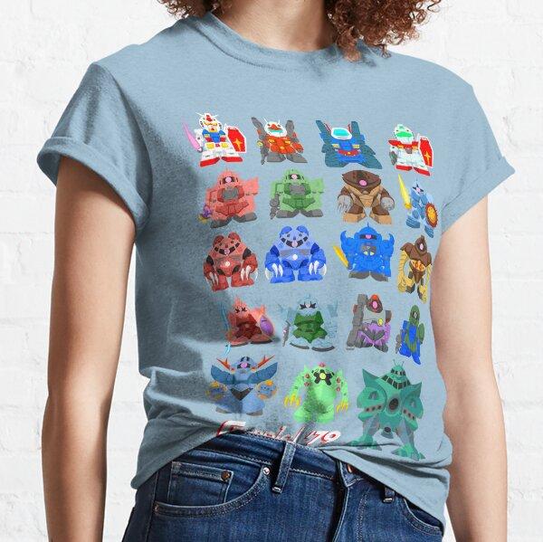 Mini Mobile Suits '79 Classic T-Shirt