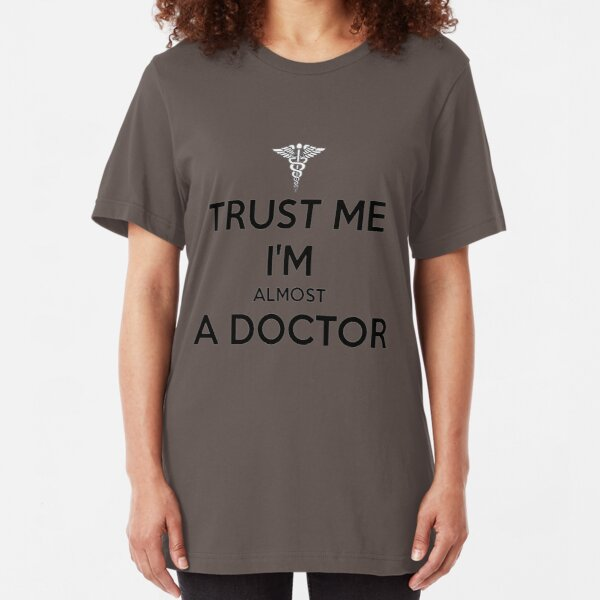 Trust Me Im A Doctor Back Print Long Sleeve Hoodie for Man