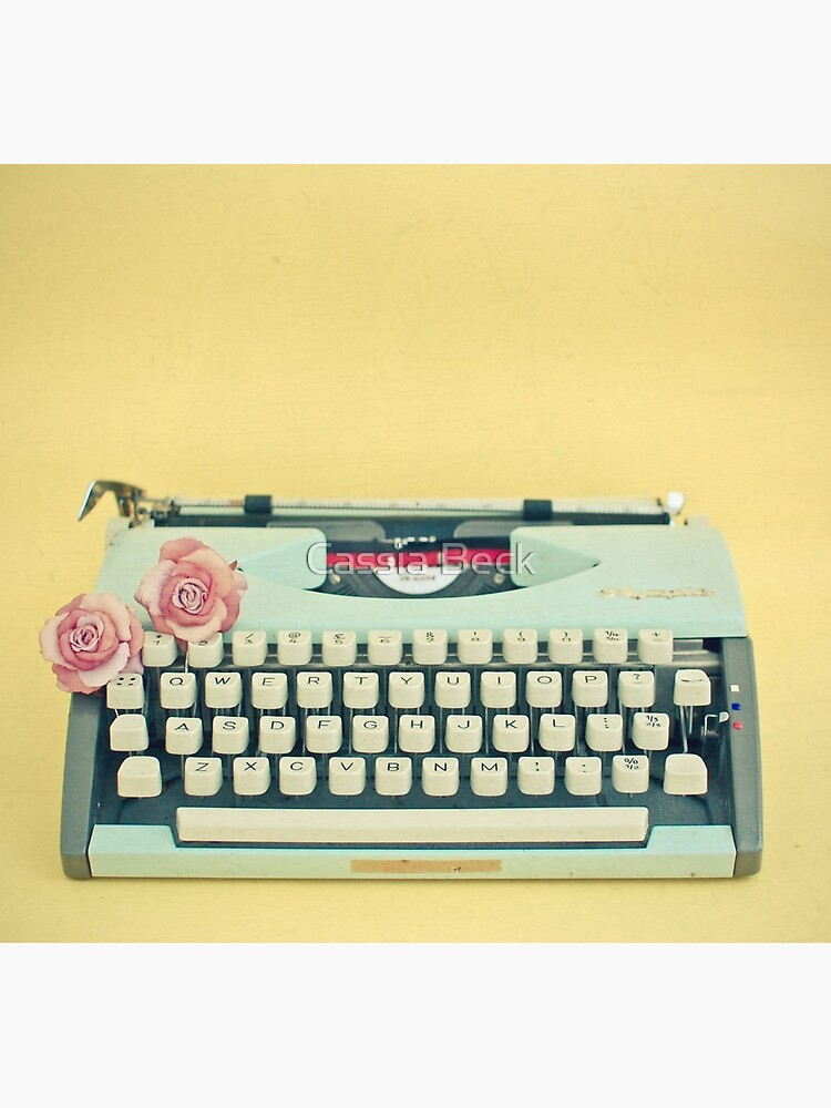 The Typewriter by Cassia