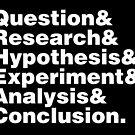 Scientific Method Helvetica by fishbiscuit