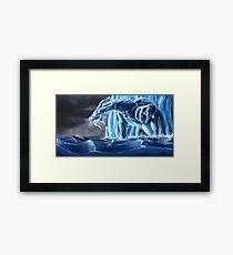 Dragon of Ice Framed Print