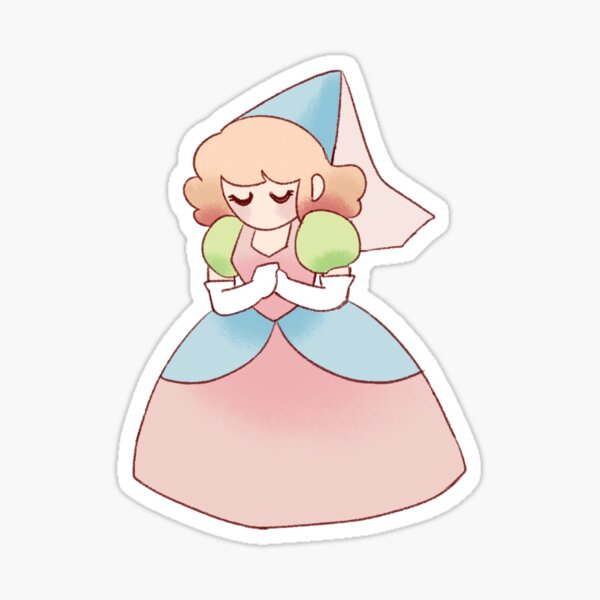 Pastel Princess Sticker