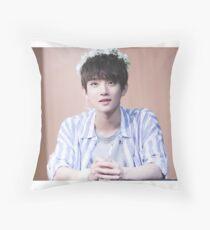 Seventeen Kpop - Joshua Throw Pillow