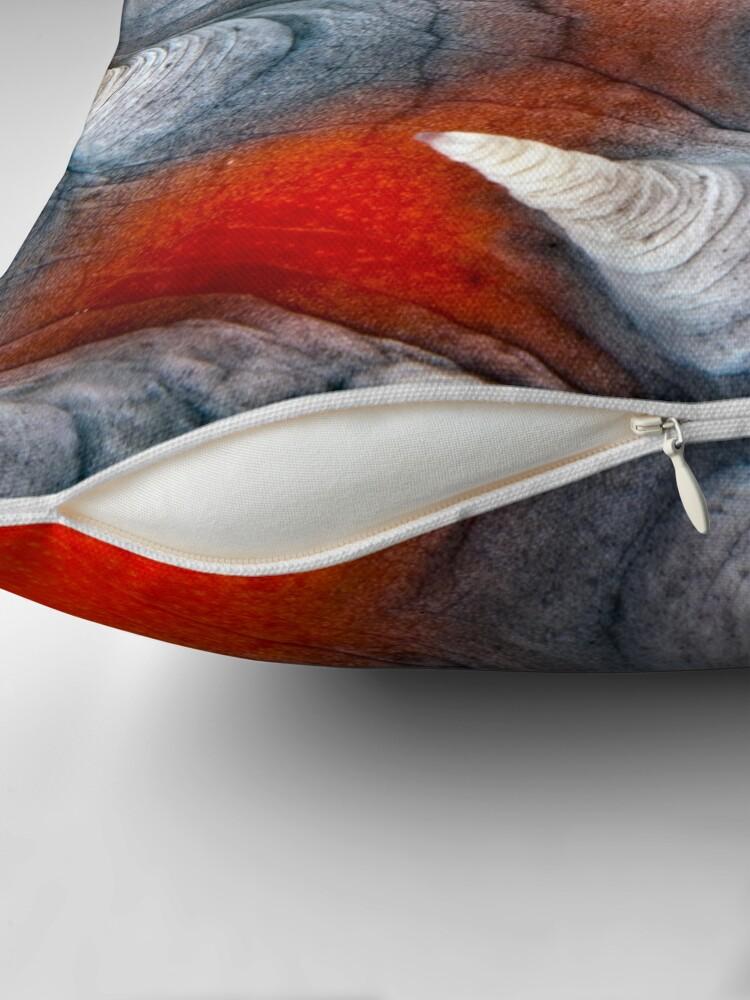 Alternate view of Teat? Fish? Throw Pillow